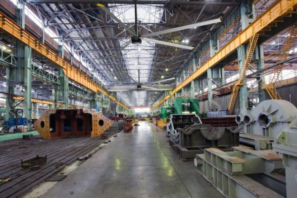Quạt trần công nghiệp HVLS