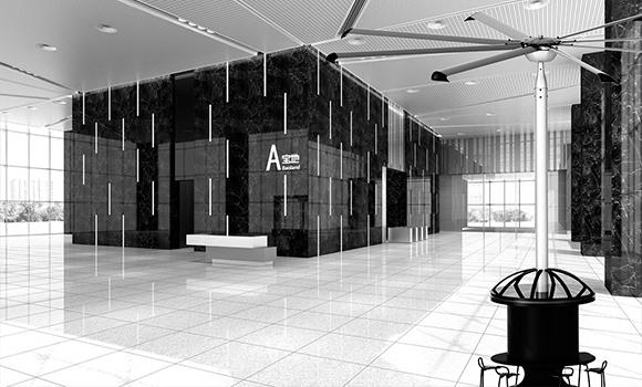 Quạt trần công nghiệp AIRPOLE