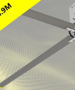 quạt trần công nghiệp eurus cánh dài 4,9 m