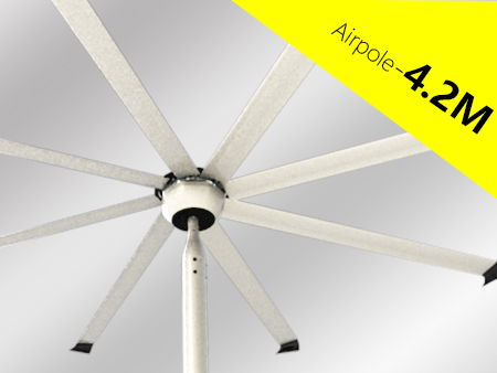 Industrial ceiling big fan HVLS Airpole Series 6