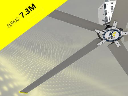Industrial ceiling fan HVLS eurus SERIES 1