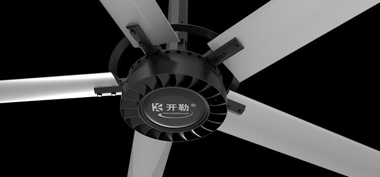 Quạt trần công nghiệp SHVLS Engine cánh dài 4,9 m 2